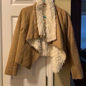 Piko 1988 Jackets & Coats - Suede-Wool Jacket